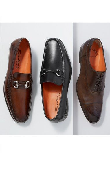 6deb7b70ae7 Main Image - Santoni  Evan  Bit Loafer (Men)