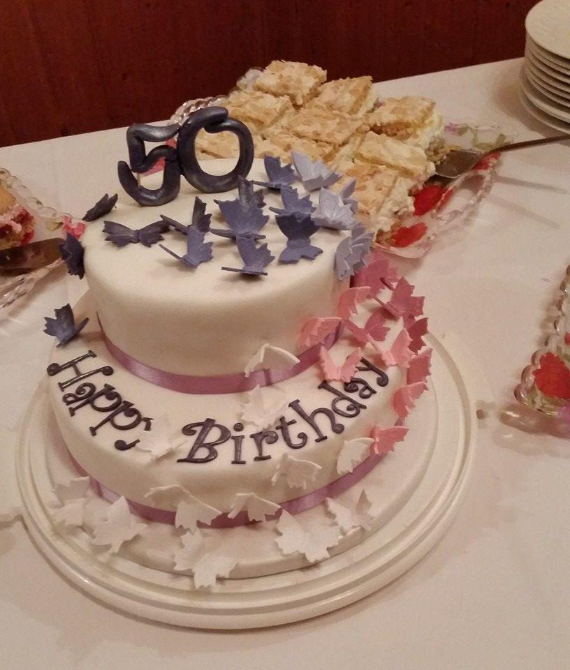 für meine mum zum 50 geburtstag  kuchen süßes