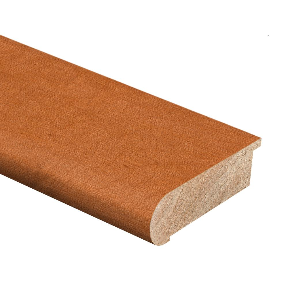 Maple Cinnamon 3/4 in. Thick x 2-3/4 in. Wide x 94 in. Length Hardwood Stair Nose Molding