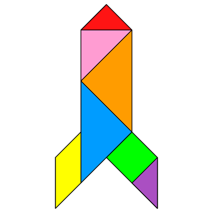 tangram rocket tangram solution providing teachers and pupils with tangram puzzle activities
