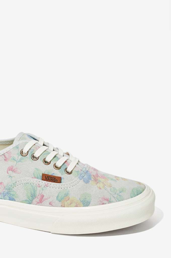 159e0145f9 Vans Authentic Sneaker - Pale Floral Suede