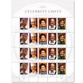 Celebrity Chef postage stamps are a great find, but I realize how little I know about their important influences. Now I'm on a mission to explore their recipes.