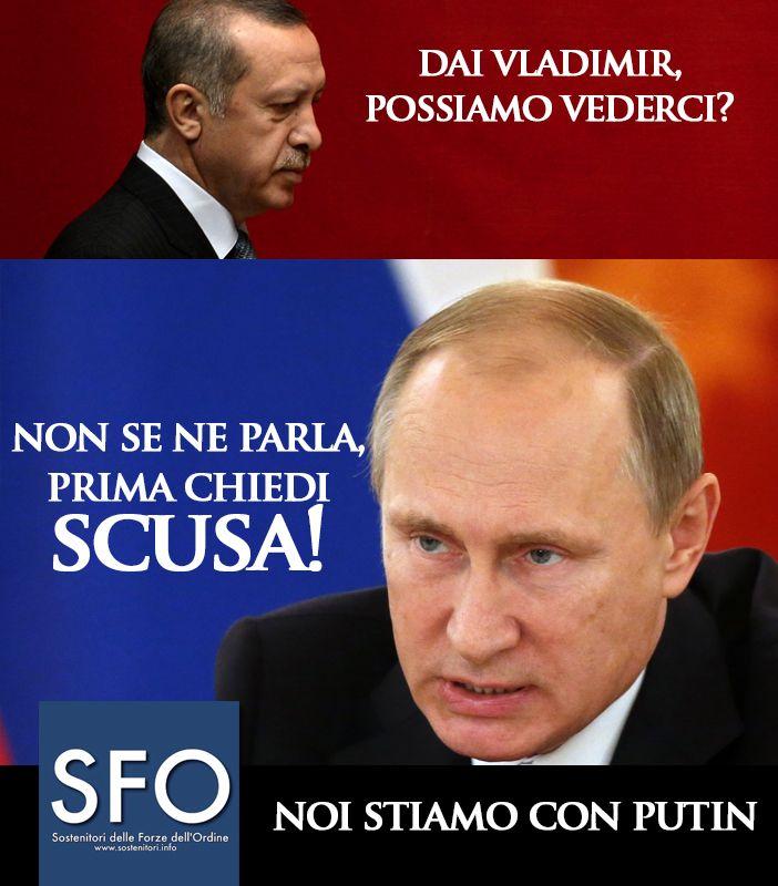 VIDEO -  Pace fatta tra Putin e Erdogan: via le sanzioni nel settore turistico contro Ankara - http://www.sostenitori.info/video/video-pace-fatta-putin-erdogan-via-le-sanzioni-nel-settore-turistico-ankara