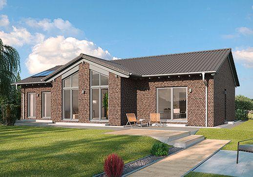 modelle marmilla langgestreckter rechteck bungalow mit satteldach beeindruckender wohnraum. Black Bedroom Furniture Sets. Home Design Ideas