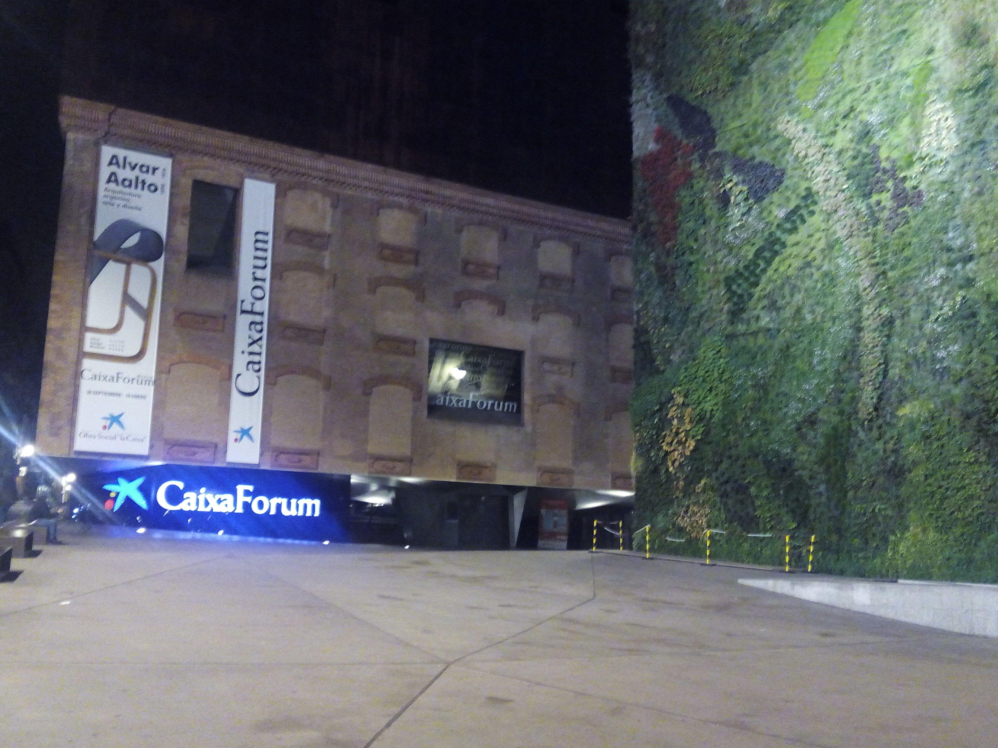 Caixa Forum, Madrid Spain Casas, Vacaciones