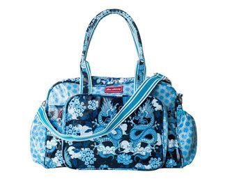 The best baby bag! Dragon Blue Print