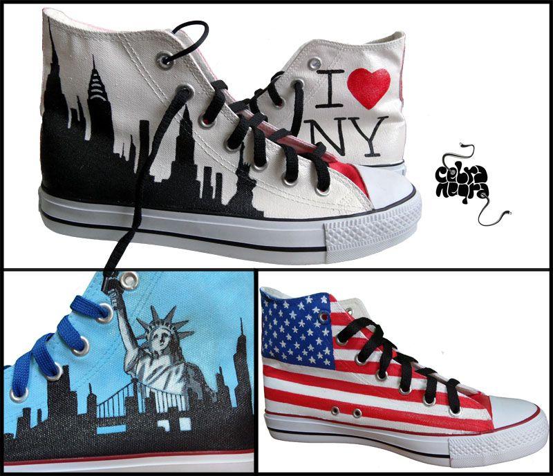 chaussure converse new york