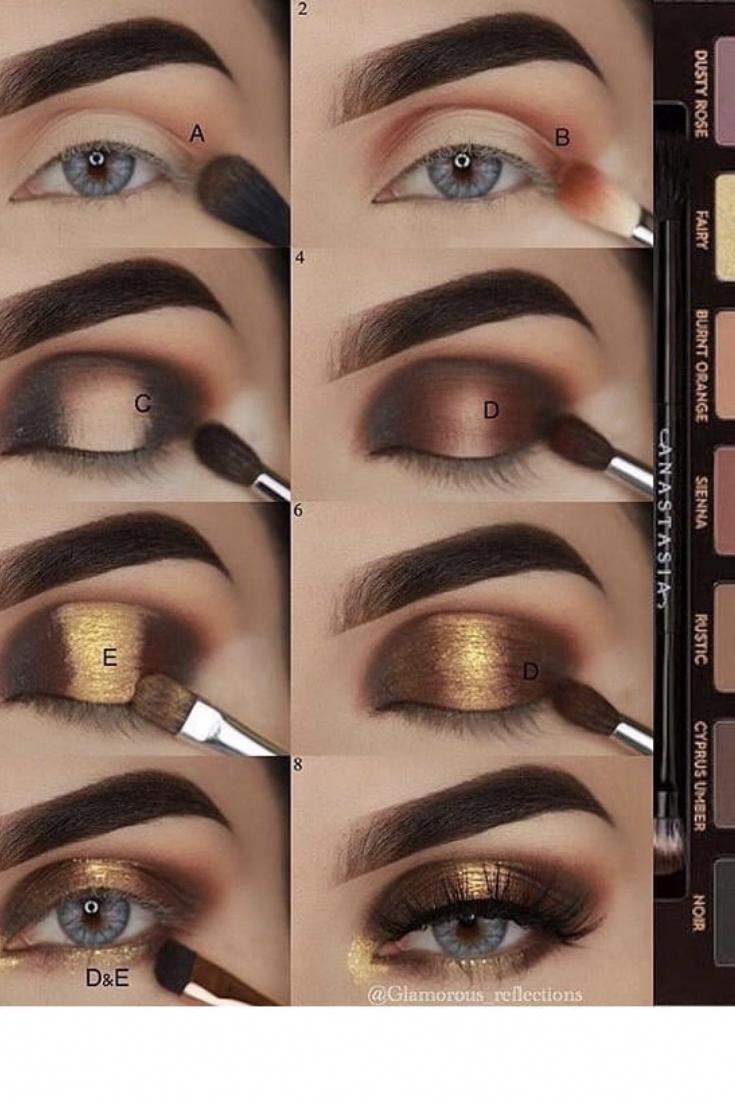 Soft Glam Eyeshadow Palette ANASTASIA BEVERLY HILLS. Warm