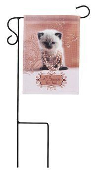 Candidly LOL by Pavilion Mini Flag with Metal Stake, Princess, Flag 5 by 7-Inch, Metal Stake 8-1/2 by 14-1/2-Inch by Candidly LOL by Pavilion. $15.27. Great gift idea. Metal stake included. Includes saying - a princess lives here. Candidly LOL by Pavilion will have you L…aughing O..ut L…oud A light-hearted collection of children and your favorite dogs and cats on mugs, candle accessories, plaques, notepad/pen sets, garden flags and magnets. Each item incorporates funn...
