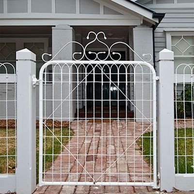 Woven Wire Gate Termite Proof Amp Noncombustible Home