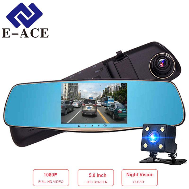 E-ACE 5.0 дюймов IPS Видеорегистраторы для автомобилей ...