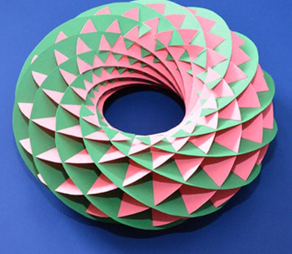 Make a tetrahedron from an envelope   CutOutFoldUp  Do you