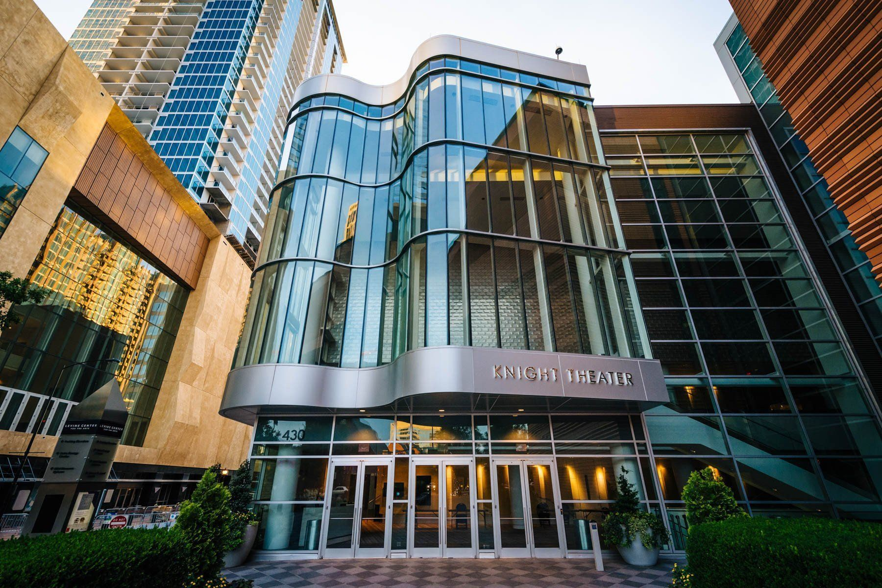 The Knight Theater, in Uptown Charlotte, North Carolina.   Products ...