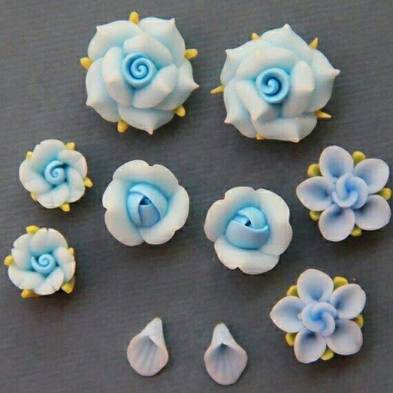 Flores Migajon Manualidades Flores De Porcelana Fria Y