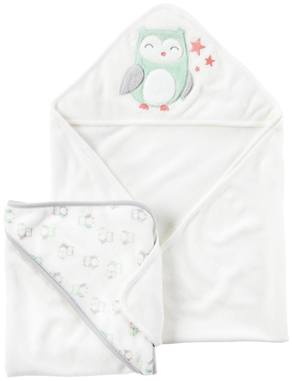 Carters Bath Towels D04g054 Assorted One Size Baby * You ...