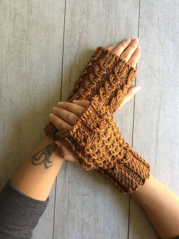 Fingerless winter gloves, gloveletes, stocking stuffers, Christmas ...
