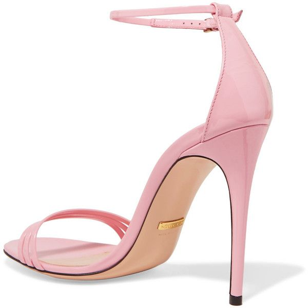 Gucci Patent-leather sandals ($695