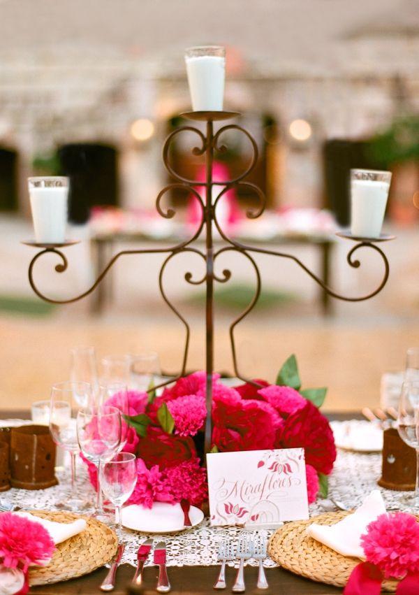 Mexican Wedding Centerpiece