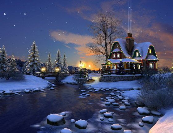 3D Animated Christmas Screensavers