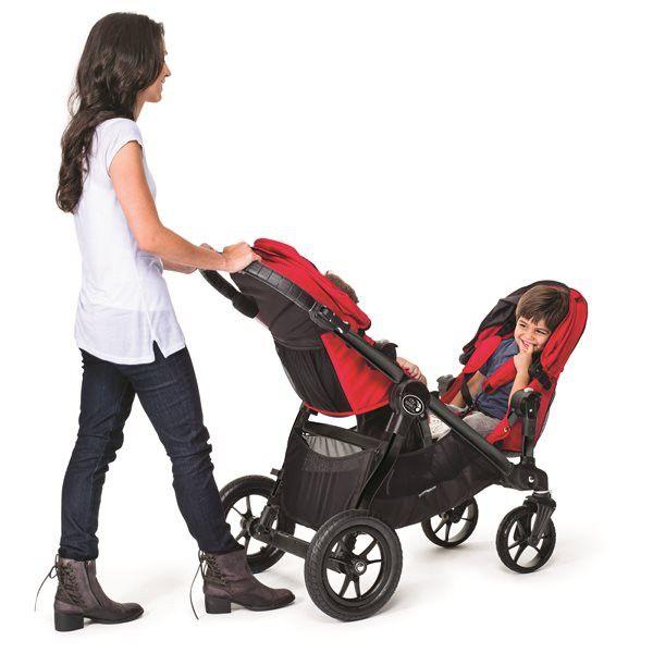der city select ist ein praktischer kinderwagen von baby jogger f r geschwister oder. Black Bedroom Furniture Sets. Home Design Ideas