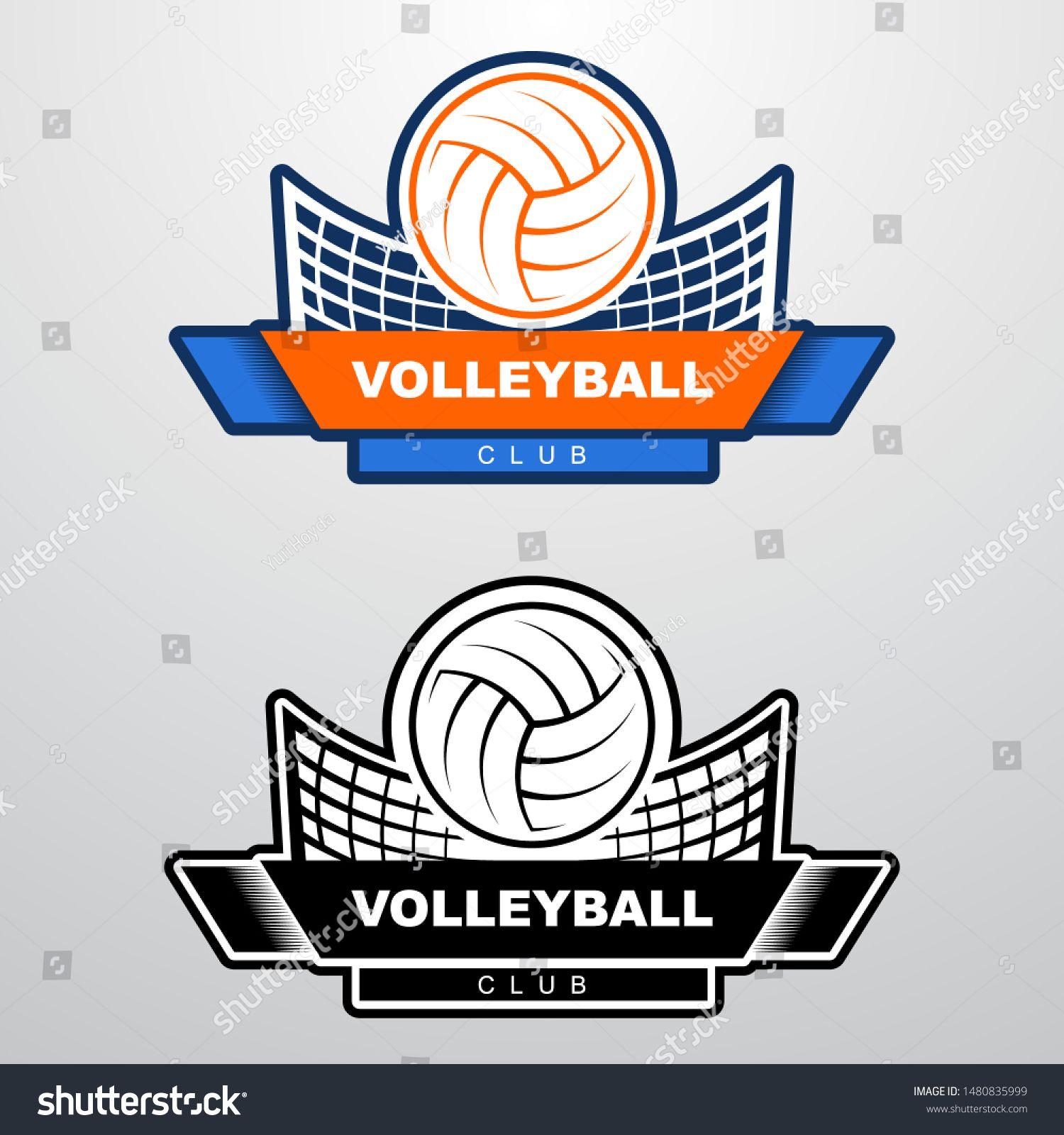 Volleyball Logo Template Volleyball Logo Templates Templates