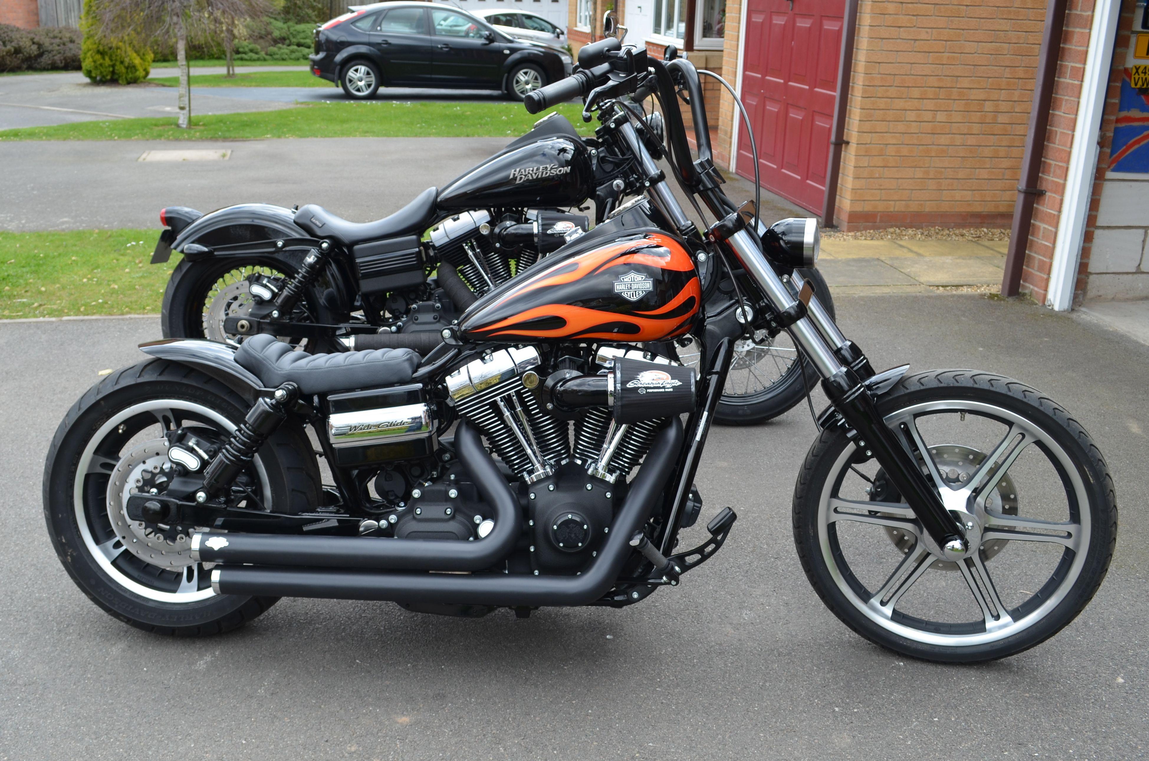 Rocket Bob Transformation Harley Davidson Dyna Harley Davidson Bobber Bikes