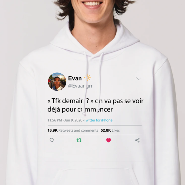 Sweat à Capuche : «