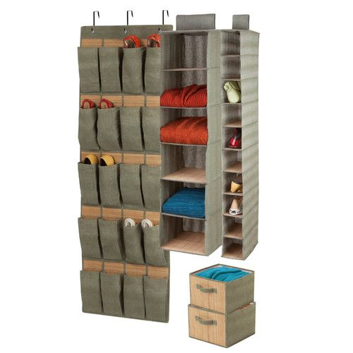 Found it at Wayfair - 4 Piece Closet Organizer Set