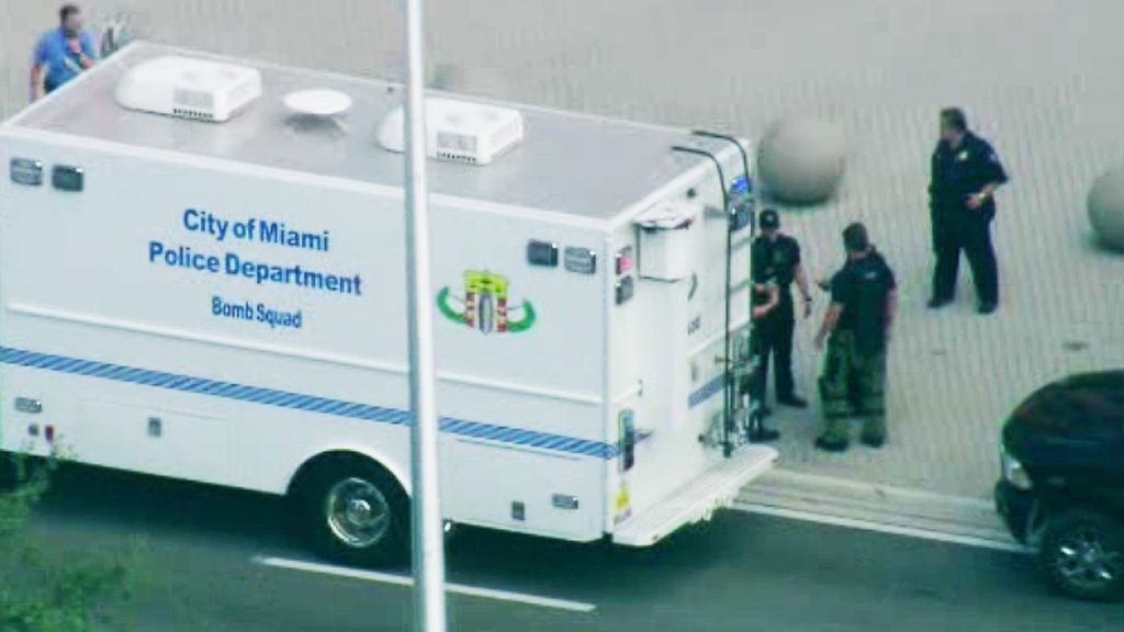Suspicious Package Investigated At Miami-Dade Democratic