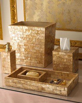 Capiz Bathroom Accessories Gold Bathroom Accessories Bathroom Accessories Sets Bathroom Accessories Design