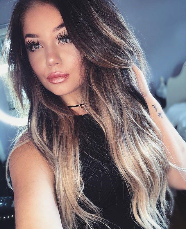Long Hair Styles Beauty Salons Beautiful Women Makeup