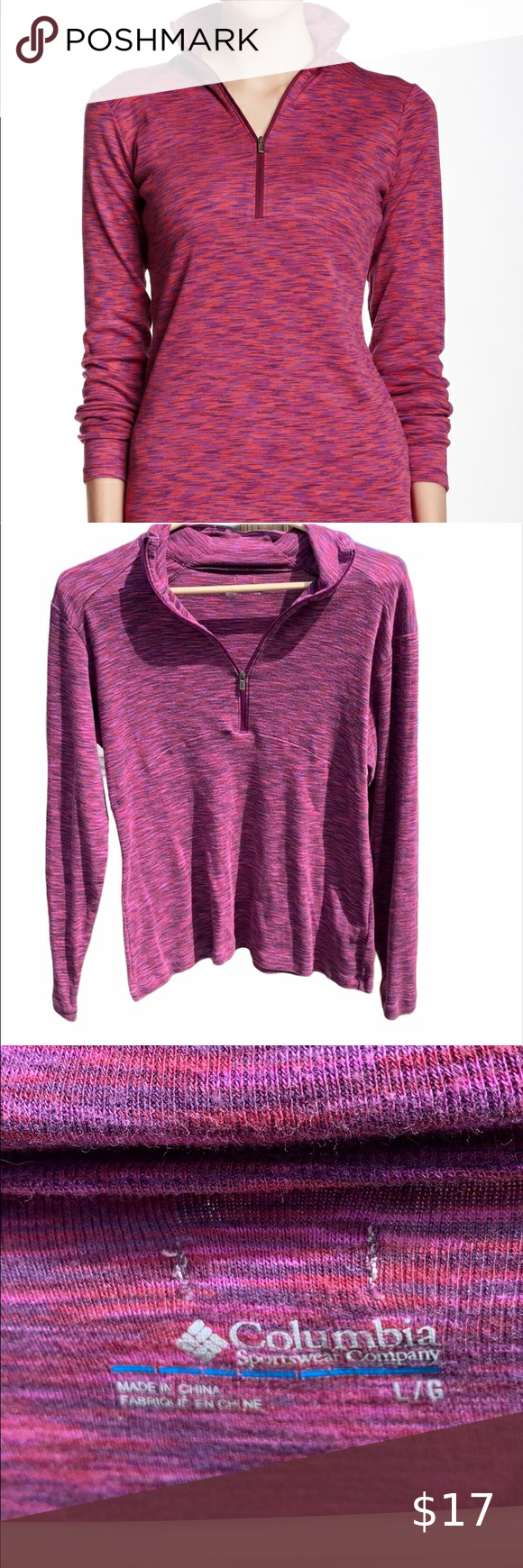 Columbia pull over top