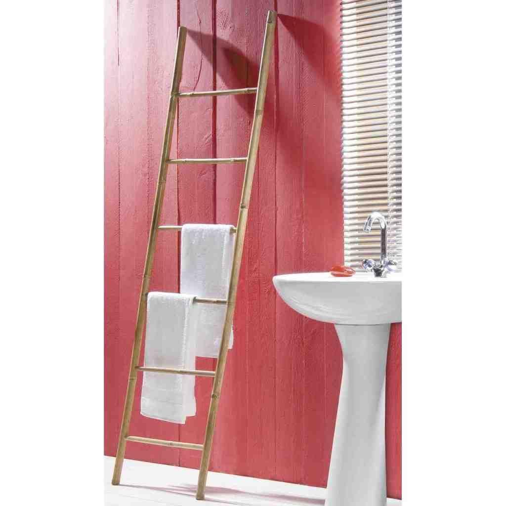 echelle bambou salle de bain leroy merlin Leroy merlin porte-serviettes-echelle-bambou-java