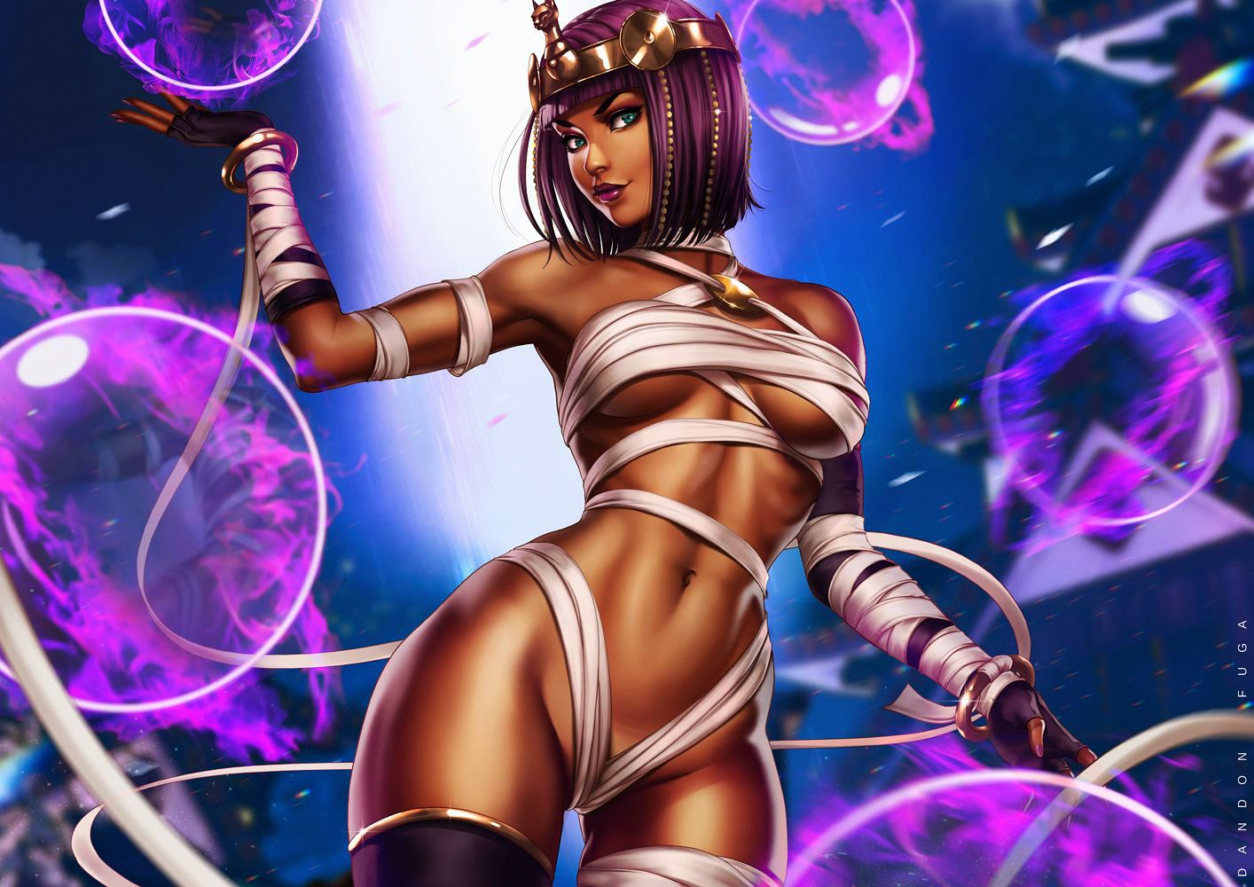 Menat Street Fighter V By Dandon Fuga Street Fighter Fighter