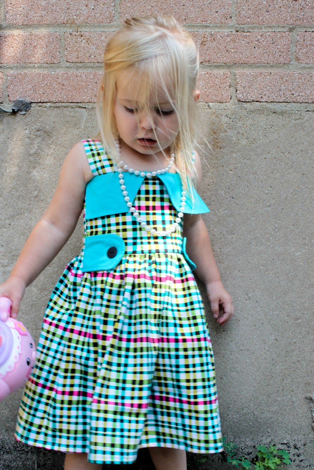Green dress baby images  sew easy being green Dress Up Days Dress Brady Bunch Style