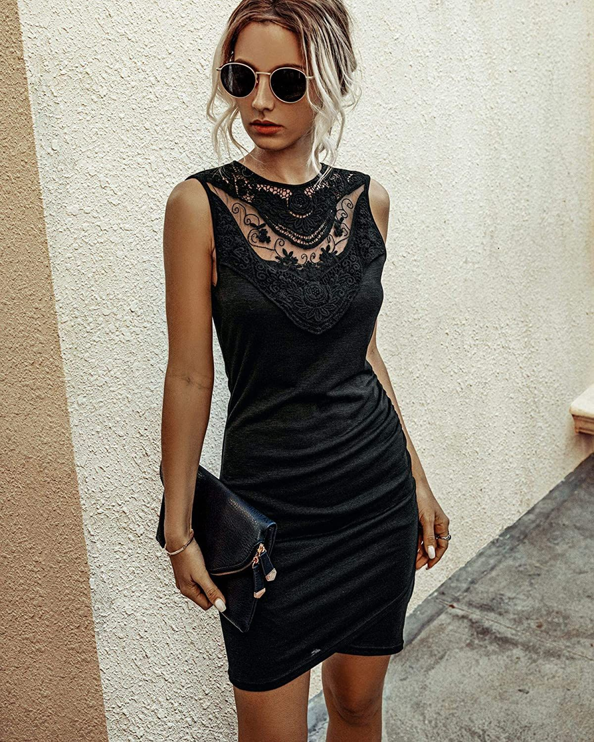 Lbd Women Dress Summer Casual Crew Neck Ruched Stretchy Bodycon T Shirt Short Mini Dress In 2020 Short Mini Dress Summer Dresses For Women Casual Summer Dresses [ 1500 x 1200 Pixel ]