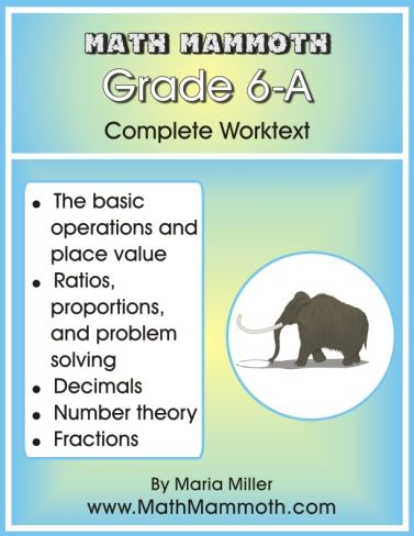 Free 6th grade math worksheets. Randomly generated