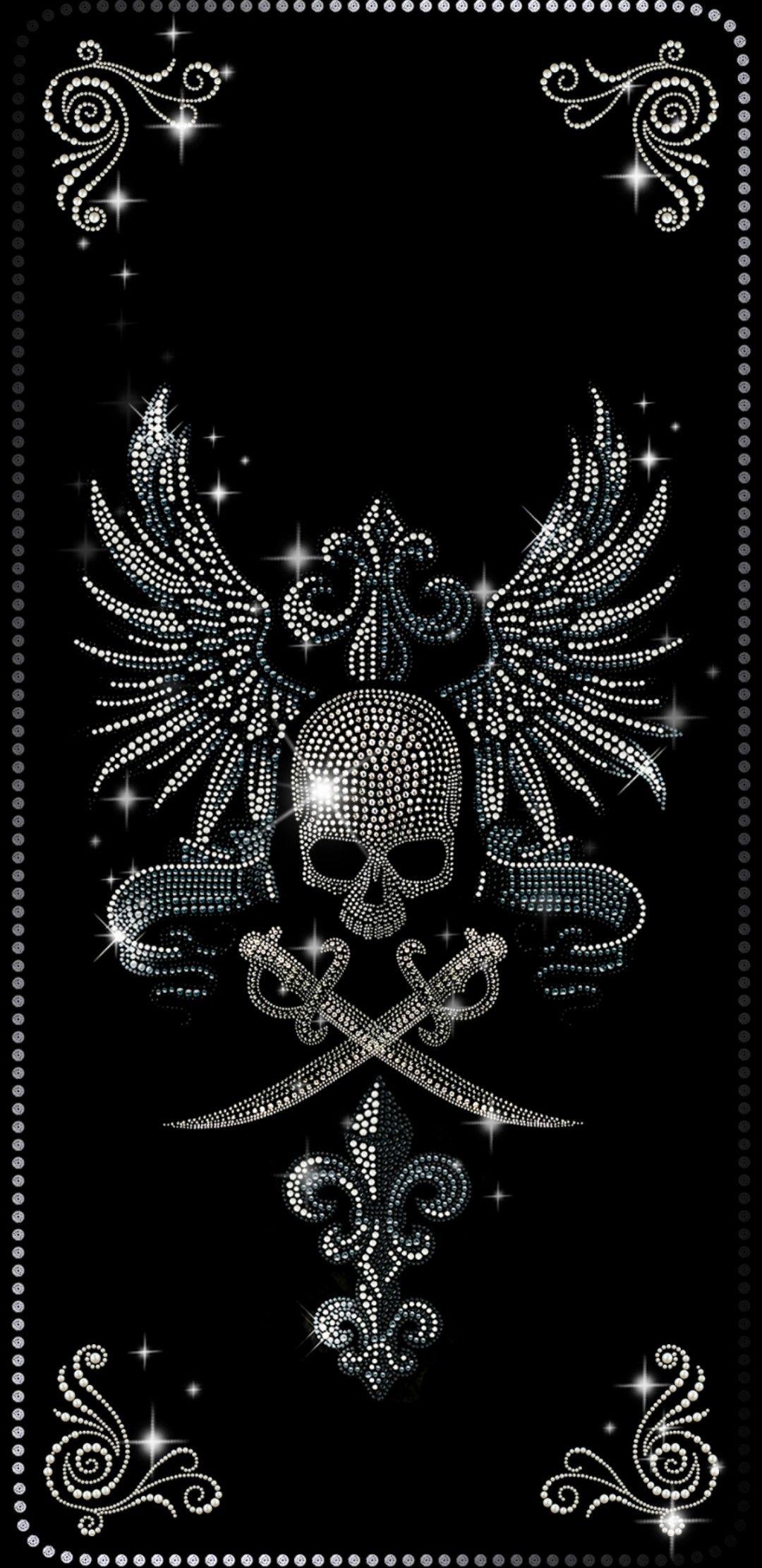 Phone case Skull wallpaper, Skull wallpaper iphone