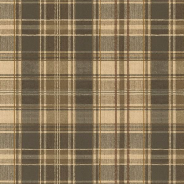 This Would Be A Wallpaper Idea Plaid Wallpaper Riverside Cottage Wallpaper