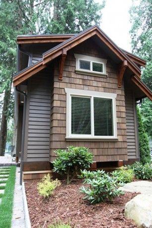 Blue Cottage Exterior