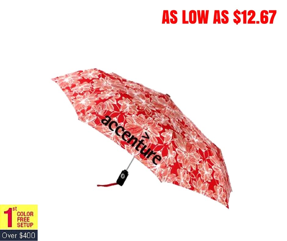 Gift choice for all seasonal promotions ! #floral #red #totes #umbrellas #freesetup