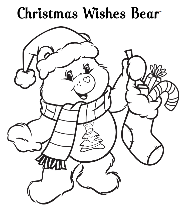 Pin de beautifully broken en Care Bears Coloring PAGES/STATIONARY ...