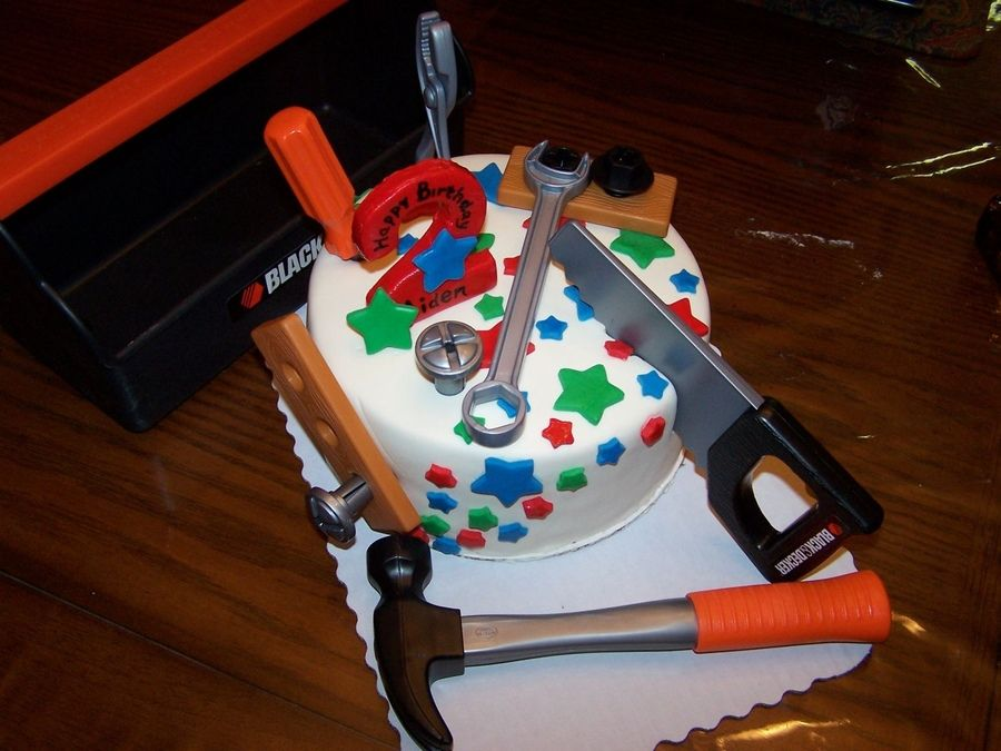 Tool Birthday Cake Childrens Birthday Cakes Birthday Parties