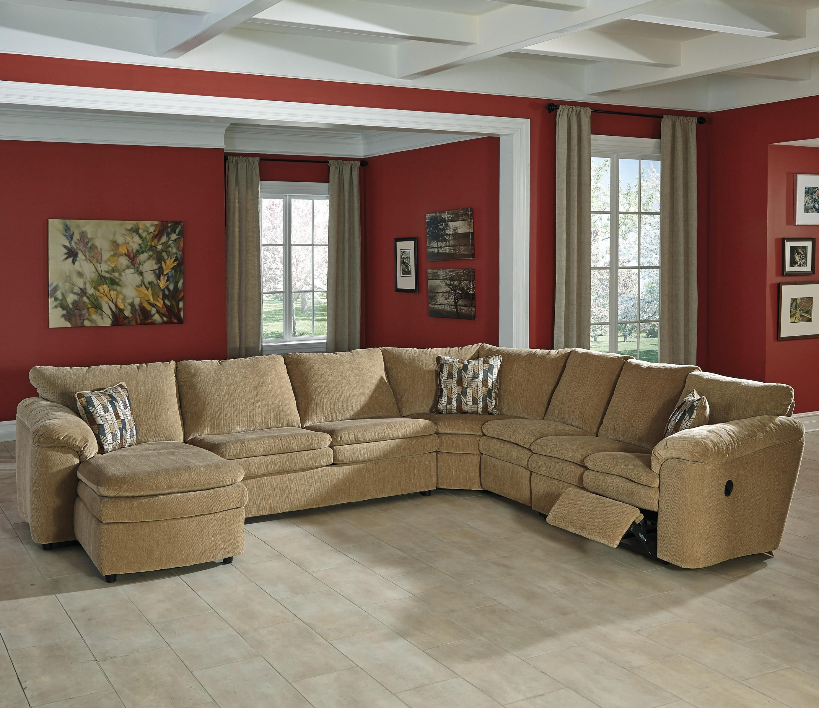 Pin By Becks Furniture On Ideas For The House Sectional Sofa With Recliner Reclining Sectional Sectional Sofa