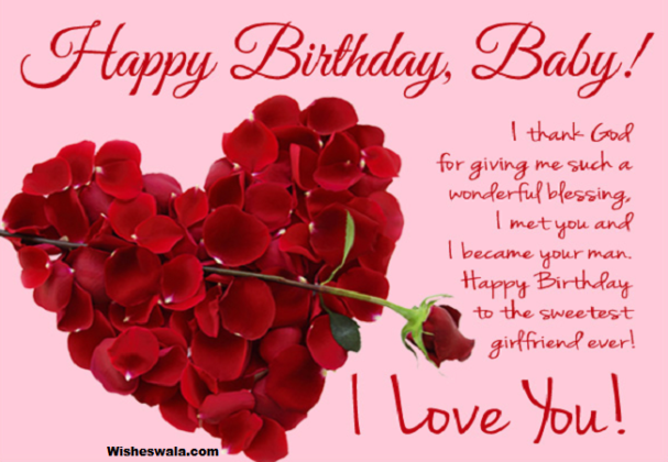 Happy Birthday To My Love Stay Happy And Always Be With Me I
