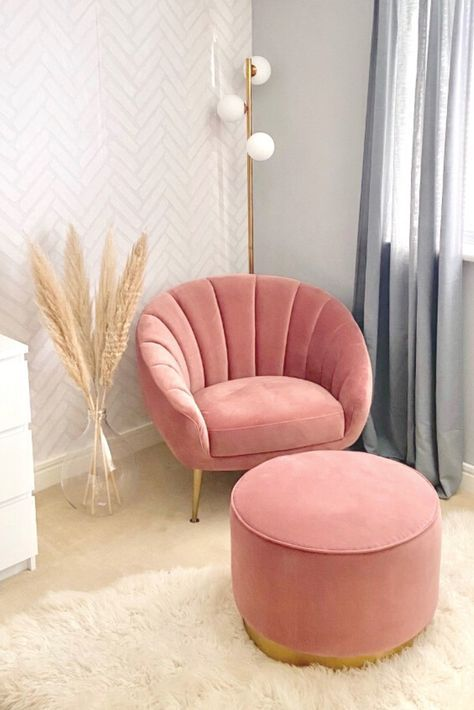 Bedroom Dressing Room Or Living Room Accent Chair In
