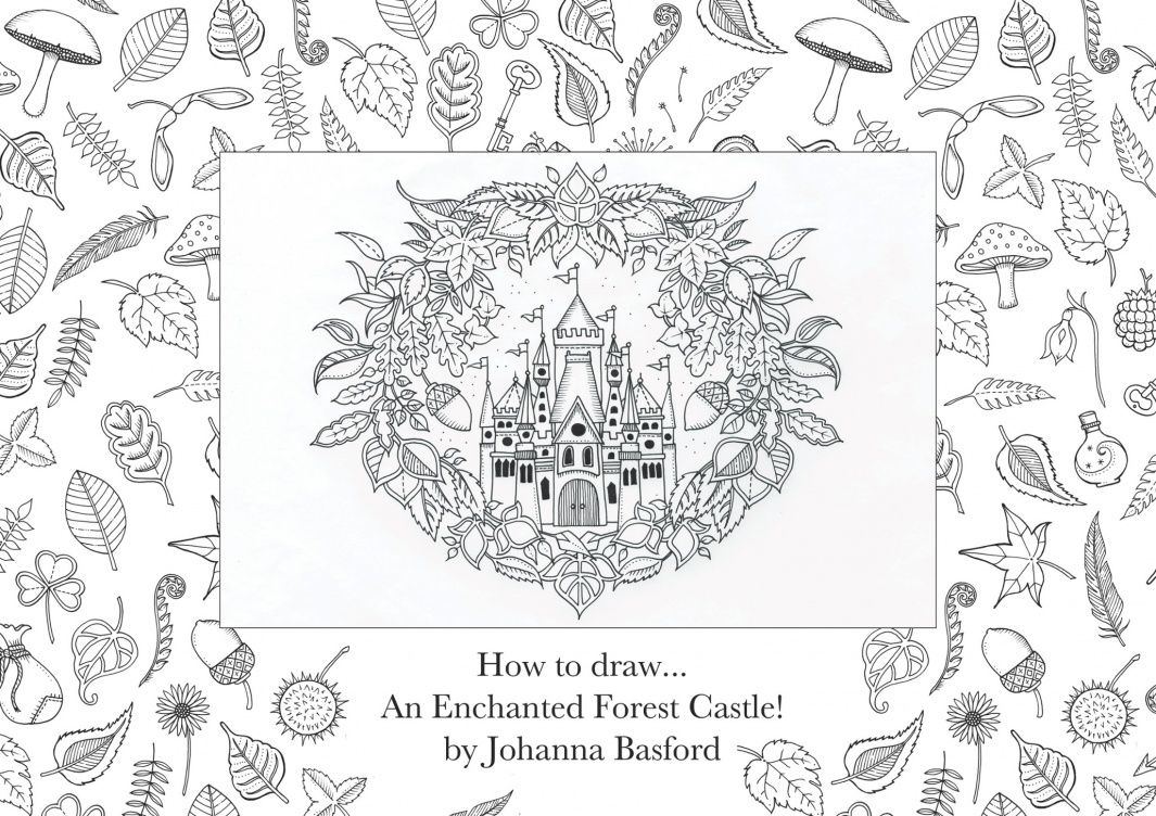 How to draw… an enchanted forest | Children's books | The Guardian