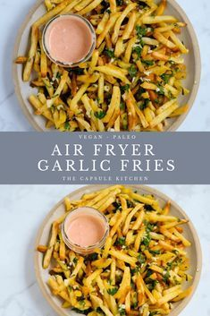 Photo of Homemade garlic fries. Add a twist to your basic french fries with a bit of garl…