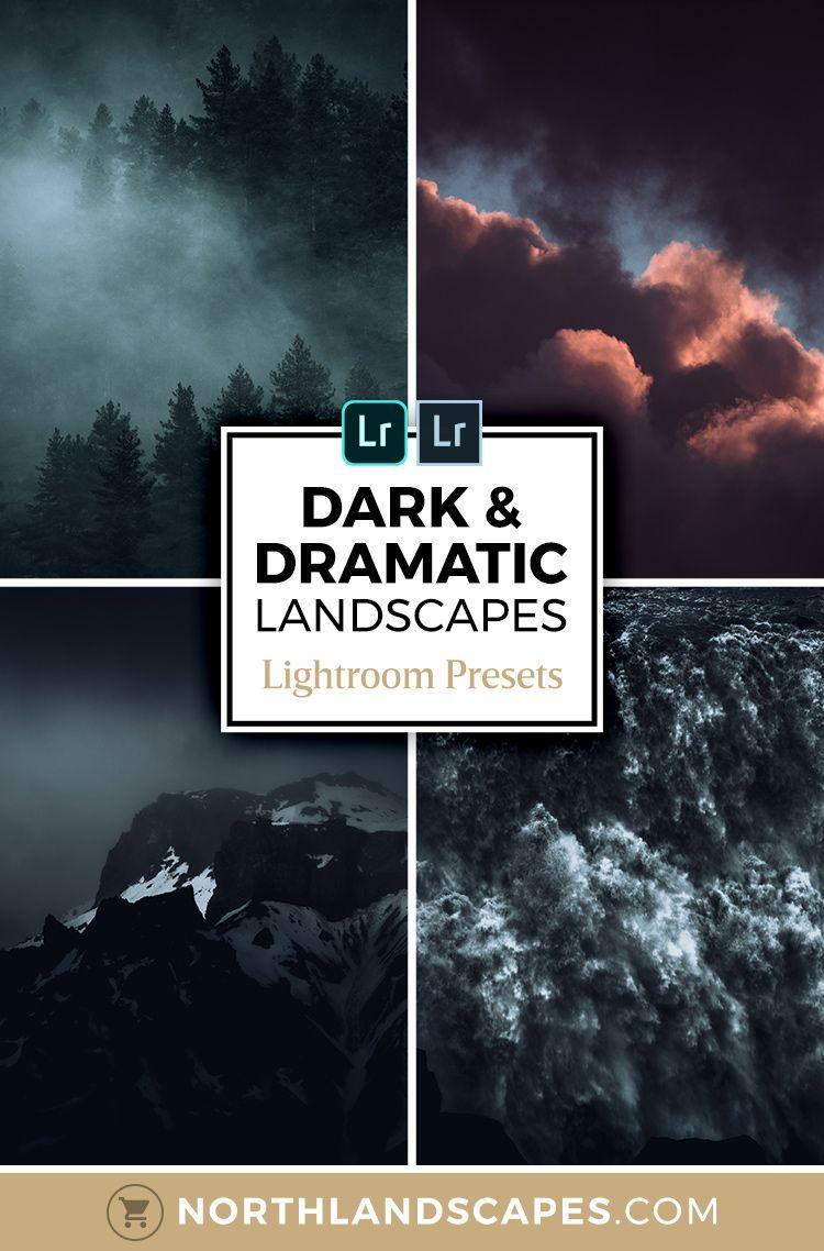Dark Moody Lightroom Presets For Landscape Photography