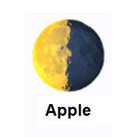 Last Quarter Moon Emoji In 2020 Moon Emoji Moon Symbols Emoji